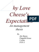 Why Love Cheese's Expectation
