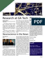 GTNeuro Newsletter 2011Nov