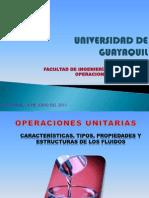 OPERACIONES UNITARIAS-FLUIDOS