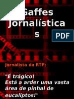 Gaffes Jornalisticas