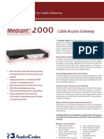 Audio Codes Mediant2000 Cable