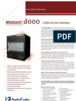 Audio Codes Mediant8000 Cable