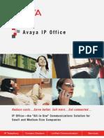 AvayaIPO3 Brochure