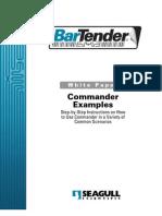 Bartender Commander Examples