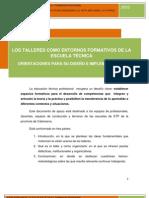 Entornos Formativos Talleres de ETP