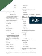 Formulario de fisicoquímica