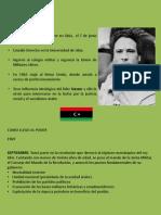 GADAFI Y EL PROBLEMA EN LIBIA