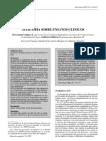 Auditoria Sobre Ensayos Clinicos