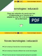Noves Tecnologies i Educació