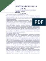 FALSA CRÓNICA DE JUANA LA LOCA