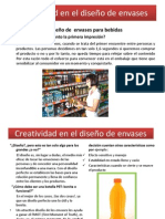 Creatividad en el diseño de envases