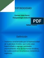 Hipertiroidismo trabajo