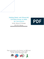 SHG Linking Banks and SHG - NABARD 2002 (Kropp)