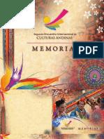 MEMORIAS II ENCUENTRO