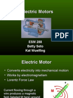 Electric Motor Presentation