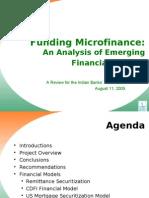 Banking > Funding Microfin