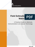 Field Estimation of Soil Water Content