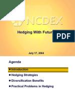 Hedging Futures