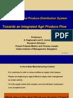 Indian Agri Prodn Distribtn System