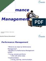 Performance Management Aventis