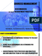 Bench Marking Best Recruitment Practices
