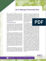 Managing Comm Risk