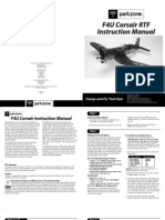 F4U Corsair RTF Manual