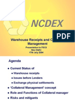 Warehousing Ncdx