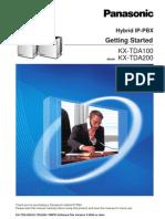 PanasonicKX TDA600 Gettingstarted