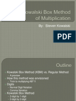 Kowalski Box Method (2)