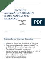 Contract Farming Models - Delhi