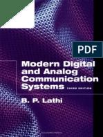 B P Lathi - Modern Digital and Analog Communication Systems