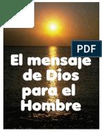Obrero Fiel - El Mensaje de Dios Para El Hombre