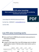 MFIN7015 PPT Low Pb Investing