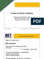 fontesdodireitotributrio-2011-1-110502132207-phpapp01