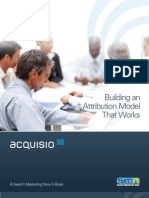 Acquisio Building an Attribution Model That Works