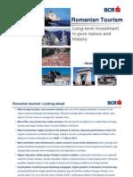 BCR raport turism