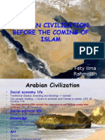 Arabian Civilization Before the Coming of Islam