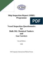 Ship Inspection Questionnaire Edition 2000
