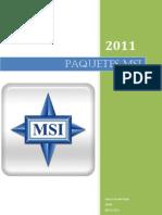 Tema 2.Paquetes MSI