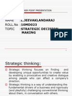 45503420 Strategic Management