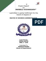 Report of Rk Msrbels