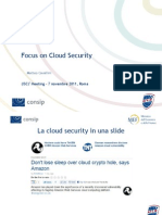 Cavallini - Focus on Cloud Security