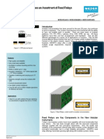 Modular Instrumentation Reed Relays