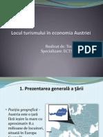 Locul turismului în economia Austriei