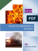 Plano de emergência oficina