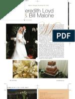 Georgia Featured Wedding Meredith Loyd & Bill Malone
