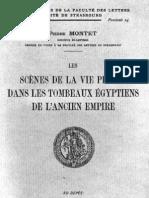 Kabylie Autonome.Doc.Pierre Montet.Scènes De La Vie Dans Les Tombeaux Egyptiens.473 Pages