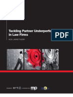 ARK1853 - Tackling Partner Under Performance in Law Firms