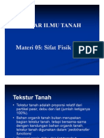 DIT 05 9 Sifat Fisik Tanah Compatibility Mode